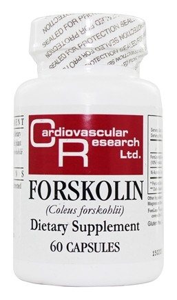 Ecological Formulas - Forskolin (Coleus Forskohlii) - 60 Capsules (Formerly Cardiovascular Research)
