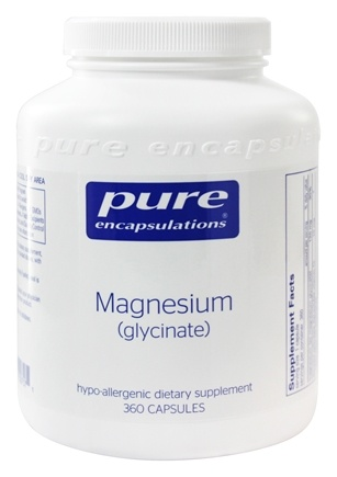 Pure Encapsulations - Magnesium Glycinate - 360 Vegetarian Capsules
