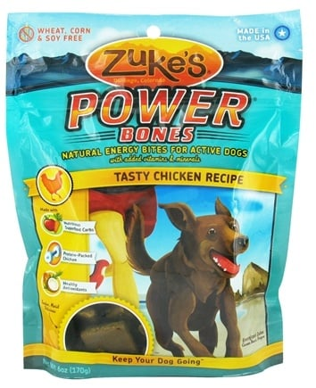 DROPPED: Zuke's - Power Bones Energy Treats for Active Dogs Tasty Chicken Recipe - 6 oz. CLEARANCE PRICED