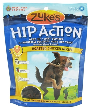DROPPED: Zuke's - Hip Action Dog Treats Chicken Formula - 6 oz.