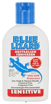 DROPPED: Blue Lizard - Australian Sunscreen Sensitive Fragrance Free 30 SPF - 5 oz. CLEARANCE PRICED