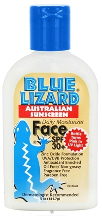 DROPPED: Blue Lizard - Australian Sunscreen Face Daily Moisturizer Fragrance Free 30 SPF - 5 oz. CLEARANCE PRICED