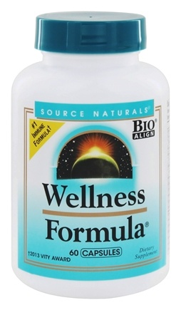 Source Naturals - Wellness Formula - 60 Capsules