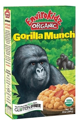 DROPPED: Nature's Path Organic - EnviroKidz Organic Cereal Gorilla Munch - 10 oz. CLEARANCE PRICED