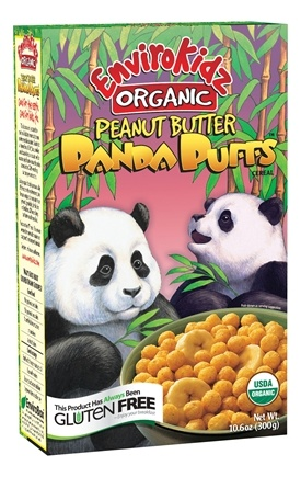 DROPPED: Nature's Path Organic - EnviroKidz Organic Cereal Panda Puffs Peanut Butter - 10.6 oz. CLEARANCE PRICED