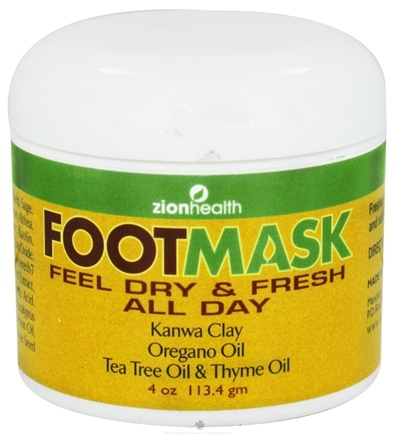 DROPPED: Zion Health - FootMask Anti-Fungal Remedy - 4 oz. CLEARANCE PRICED