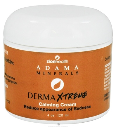DROPPED: Zion Health - Adama Minerals Derma Xtreme Calming Cream - 4 oz.
