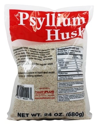 Health Plus - 100% Pure Psyllium Husk - 24 oz.