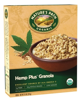 DROPPED: Nature's Path Organic - Granola Hemp Plus - 11.5 oz. CLEARANCE PRICED