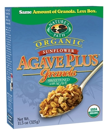 DROPPED: Nature's Path Organic - Granola Agave Plus Sunflower - 11.5 oz. CLEARANCE PRICED