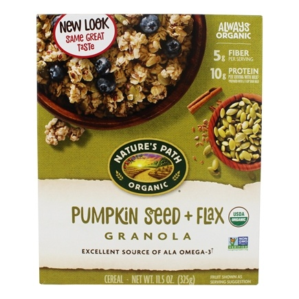 Nature's Path Organic - Granola Flax Plus Pumpkin - 11.5 oz.