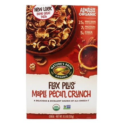 Nature's Path Organic - Cereal Flax Plus Maple Pecan Crunch - 11.5 oz.