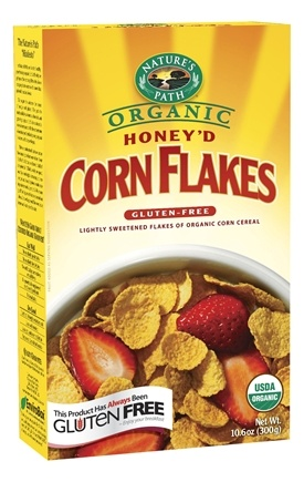 DROPPED: Nature's Path Organic - Cereal Corn Flakes Honey'd - 10.6 oz. CLEARANCE PRICED