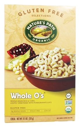 Nature's Path Organic - Cereal Whole O's Gluten-Free - 11.5 oz.