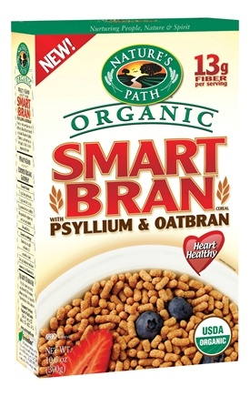 DROPPED: Nature's Path Organic - Cereal Smart Bran with Psyllium & Oatbran - 10.6 oz. CLEARANCE PRICED