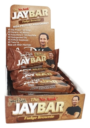 Jay Robb - JayBar High-Protein Fudge Brownie - 57 Gram(s)