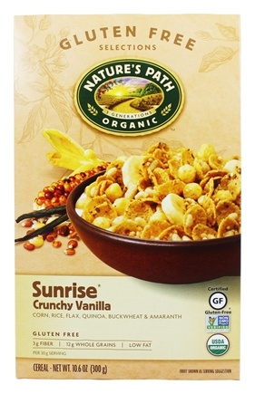 DROPPED: Nature's Path Organic - Cereal Sunrise Gluten-Free Crunchy Vanilla - 10.6 oz.