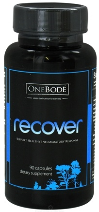 DROPPED: OneBode - Recover Healthy Inflammatory Response Support - 90 Capsules CLEARANCE PRICED