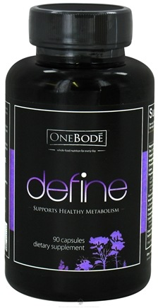 DROPPED: OneBode - Define Healthy Metabolism Support - 90 Capsules CLEARANCE PRICED