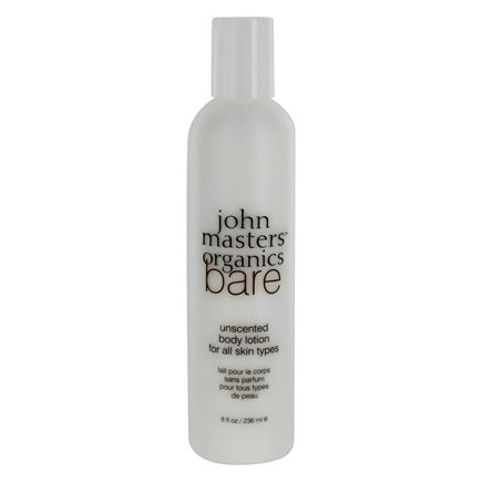 John Masters Organics - Bare Body Lotion For All Skin Types Unscented - 8 oz.