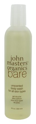 DROPPED: John Masters Organics - Bare Body Wash For All Skin Types Unscented - 8 oz.