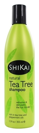 Shikai - Shampoo Natural Tea Tree - 12 oz.