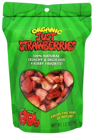 DROPPED: Just Tomatoes, Etc! - Organic Just Strawberries - 1.2 oz.