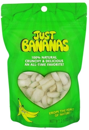 DROPPED: Just Tomatoes, Etc! - Just Bananas - 2.5 oz. CLEARANCE PRICED