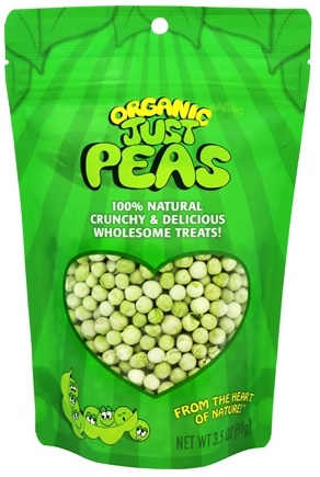 Just Tomatoes, Etc! - Organic Just Peas - 3.5 oz.