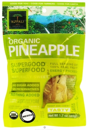 DROPPED: Kopali Organics - Organic Pineapple - 1.7 oz.