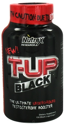 DROPPED: Nutrex - T-UP Black - 150 Capsules