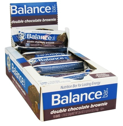 DROPPED: Balance - Nutrition Energy Bar Original Double Chocolate Brownie - 1.76 oz. CLEARANCE PRICED