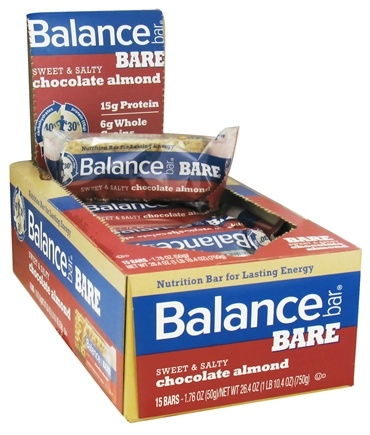 DROPPED: Balance - Nutrition Energy Bar Bare Sweet & Salty Chocolate Almond - 1.76 oz.