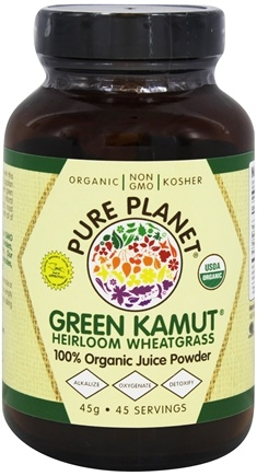 DROPPED: Pure Planet - Organic Raw Green Kamut Wheatgrass Juice - 1.6 oz. CLEARANCE PRICED