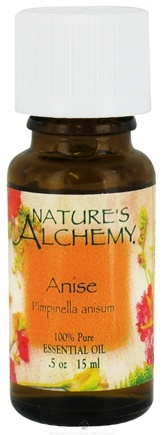 DROPPED: Nature's Alchemy - 100% Pure Essential Oil Anise - 0.5 oz. CLEARANCE PRICED