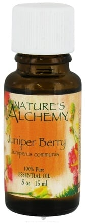 DROPPED: Nature's Alchemy - 100% Pure Essential Oil Juniper Berry - 0.5 oz. CLEARANCE PRICED