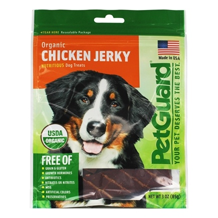 DROPPED: Pet Guard - Organic Chicken Jerky For Dogs - 3 oz.