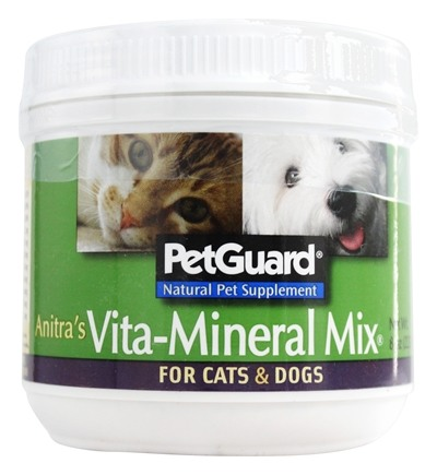 Pet Guard - Anitra's Vita-Mineral Mix For Cats & Dogs - 8 oz.