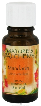 DROPPED: Nature's Alchemy - 100% Pure Essential Oil Mandarin - 0.5 oz. CLEARANCE PRICED