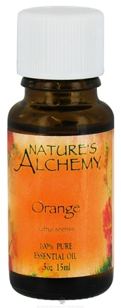 DROPPED: Nature's Alchemy - 100% Pure Essential Oil Orange - 0.5 oz. CLEARANCE PRICED