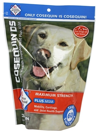DROPPED: Cosequin - DS Plus MSM Joint Health Supplement For Dogs - 60 Soft Chews