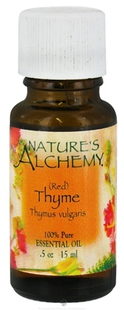 DROPPED: Nature's Alchemy - 100% Pure Essential Oil Red Thyme - 0.5 oz. CLEARANCE PRICED