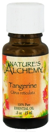 DROPPED: Nature's Alchemy - 100% Pure Essential Oil Tangerine - 0.5 oz. CLEARANCE PRICED