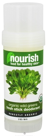 DROPPED: Nourish - Fresh Stick Deodorant Organic Wild Greens - 2 oz.