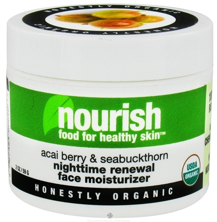 DROPPED: Nourish - Nighttime Renewal Face Moisturizer Acai Berry & Sea Buckthorn - 2 oz.