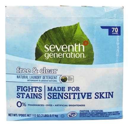 Seventh Generation - Natural Laundry Detergent Free & Clear - 112 oz.