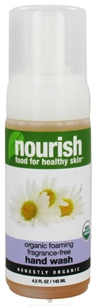 DROPPED: Nourish - Organic Foaming Hand Wash Fragrance-Free - 4.5 oz.