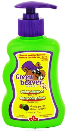 DROPPED: Green Beaver - Junior Gentle Shampoo Boreal Berries - 8.1 oz. CLEARANCE PRICED
