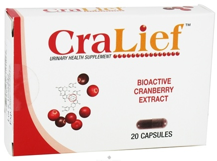 DROPPED: Nutramax Labs - CraLief Urinary Health Supplement - 20 Capsules CLEARANCE PRICED