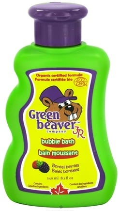 DROPPED: Green Beaver - Junior Bubble Bath Boreal Berries - 8.1 oz. CLEARANCE PRICED